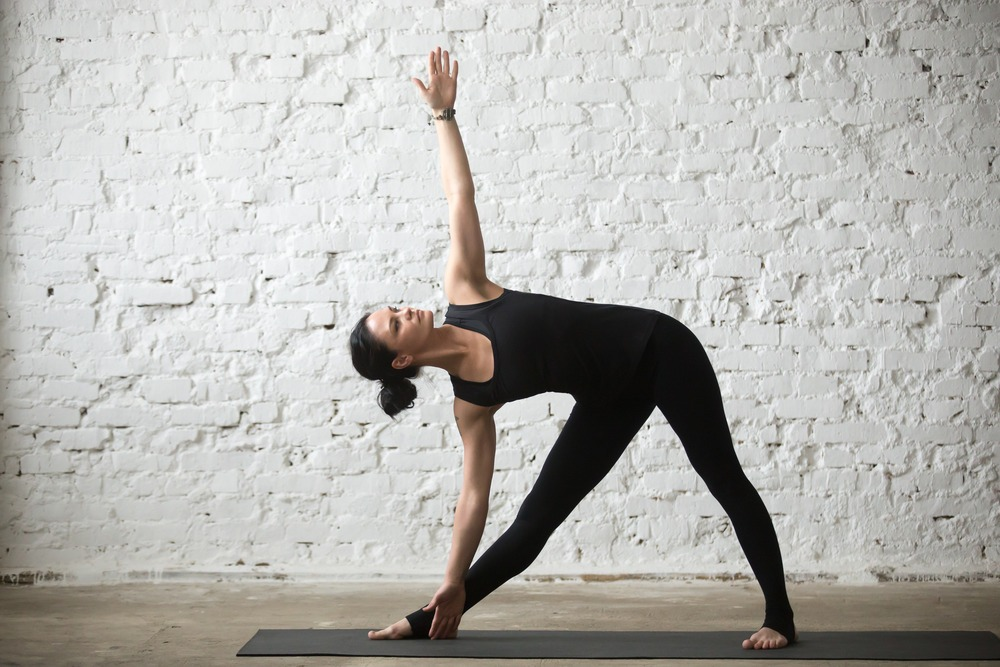triangle pose alignment tips