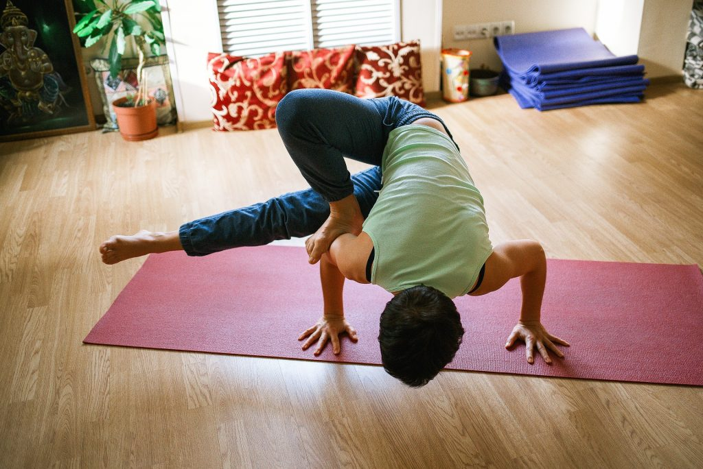 Yoga Builds Muscle Strength