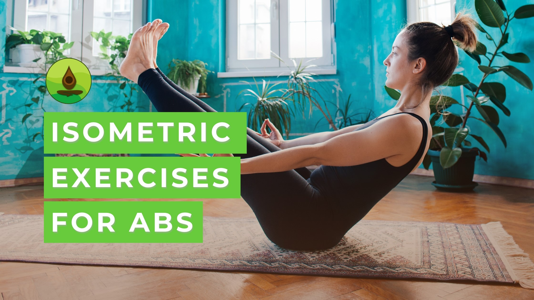 isometric exercises for the core women